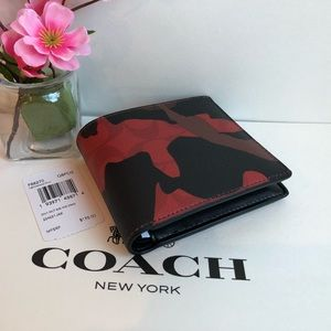 🌹  Coach Men's Wallet F88270